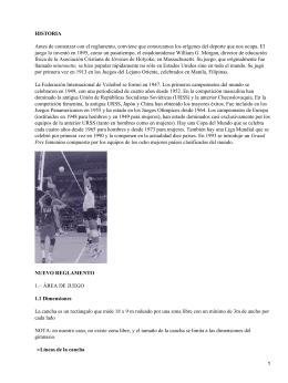 Acciones de juego de voleibol