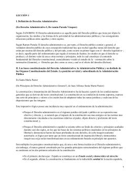 Administración y Leyes en España