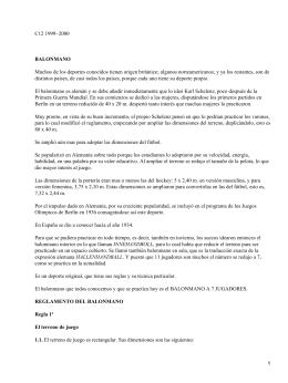 C12 1999−2000 BALONMANO