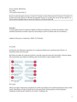 PAAU LOGSE, BIOLOGIA Juny 2002, Convocatòria titular (Sèrie 3) 1