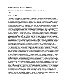 Breve Historia de la Revolución Mexicana; Jesús Silva Herzog