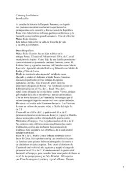 Cicerón: Los Deberes
