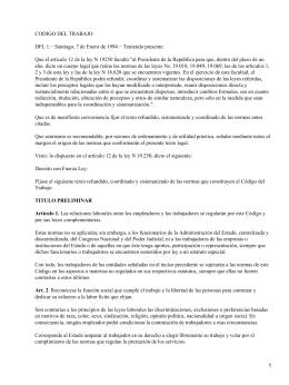Código del Trabajo de Chile