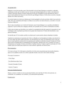 Colón: precursor literario; Joaquín Balaguer