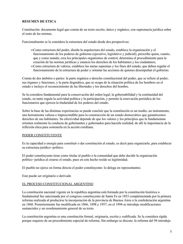 Constitución Argentina De 1853