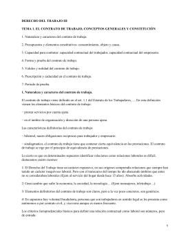 DERECHO DEL TRABAJO III