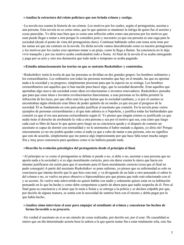 Analiza La Estructura Del Relato Policiaco Que Nos Brinda