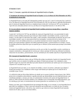 Derecho de la Seguridad Social Española