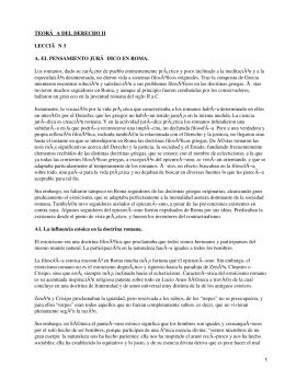 TEORÃ A DEL DERECHO II LECCIÃ N 3