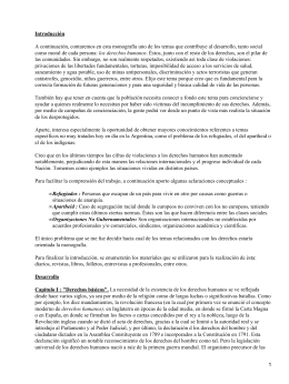 Derechos Humanos: ONG (Organización no Gubernamental)