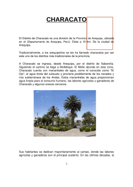 Distrito de Characato