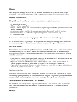 Documentos financieros o contables