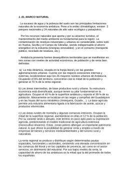 1. EL MARCO NATURAL