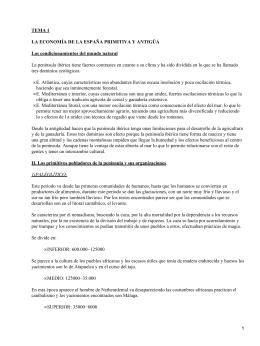 Economía de la España primitiva y antigua