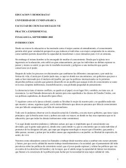 Educación y Democrácia;Ernesto Zuleta
