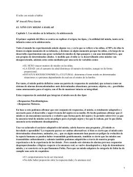 El niño con miedo a hablar; Olivares Rodríguez