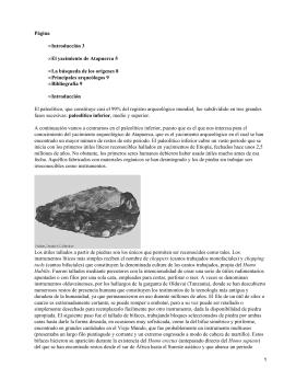 El yacimiento arqueológico de Atapuerca