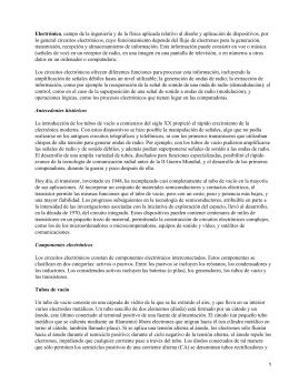Electrónica Básica: definiciones y características
