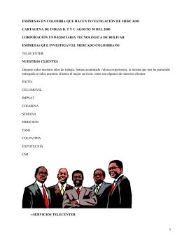 Empresas de mercado en Colombia