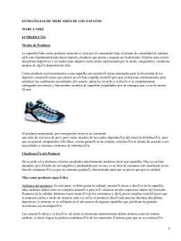 Estudio de mercado: zapatillas de deporte