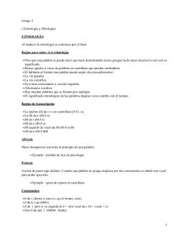 LATINAS GRIEGAS RAICES PDF Y