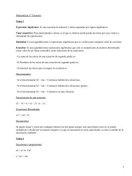 Plan de clase (1/ )