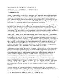 Expulsión de los moriscos en Extremadura
