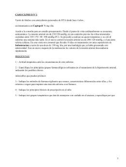 CASO CLINICO Nº 1 Captopril