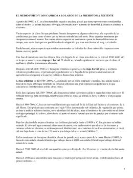 EL MEDIO FISICO Y LOS CAMBIOS A LO LARGO DE...