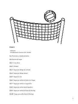 Fundamentos tácticos y técnicos de voleibol
