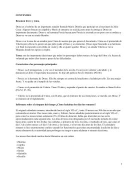 CONTENIDO: Resumen breve y tema.