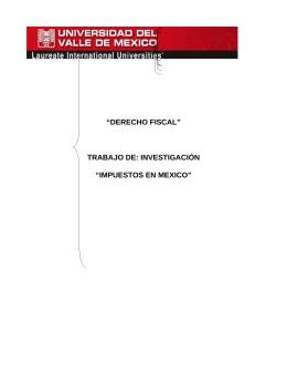 Impuesto en México