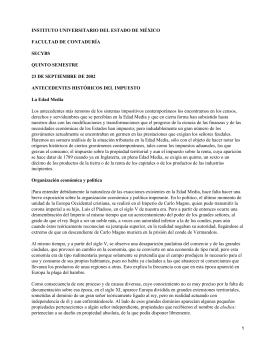 INSTITUTO UNIVERSITARIO DEL ESTADO DE MÉXICO FACULTAD DE CONTADURÍA SECYBS QUINTO SEMESTRE