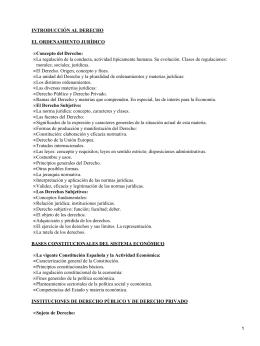 INTRODUCCIÓN AL DERECHO EL ORDENAMIENTO JURÍDICO Concepto del Derecho: •
