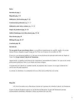 Josep Antoni Coderch de Sentmenat
