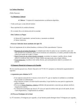 La cultura Huachaca; Pablo Huneeus