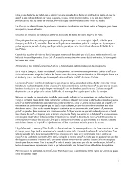 La muerte del cisne; Fernando Lalana