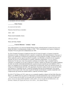 La romería de San Isidro; Francisco de Goya