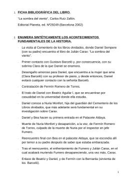 FICHA BIBLIOGRÁFICA DEL LIBRO.  ENUMERA SINTÉTICAMENTE LOS ACONTECIMIENTOS FUNDAMENTALES DE LA HISTORIA.