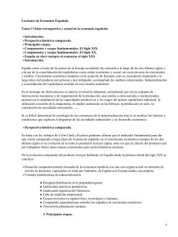 Lecciones de Economía Española; José Luis García Delgado