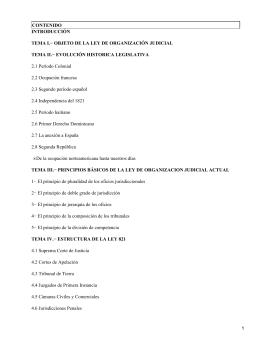 Ley 821 del año 1927, sobre Organización Judicial de la República Dominicana