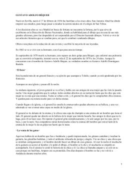 GUSTAVO ADOLFO BÉQUER