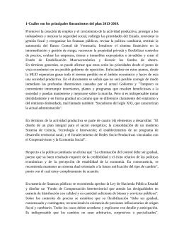 Lineamiento de la Educación Bolivariana