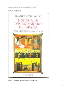 Liturgia y espiritualidad hispano-mozárabes