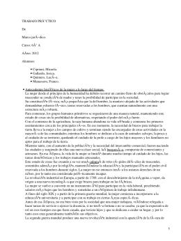 Marco jurídico de la mujer trabajadora en Argentina