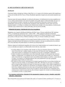 Megalitismo en el País Vasco
