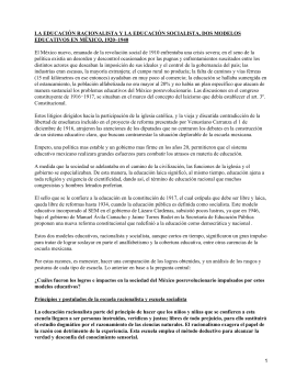 Modelos educativos mexicanos