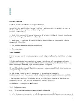 Normativa mercantil argentina