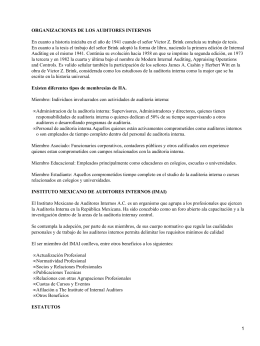 Organización de Auditores Internos