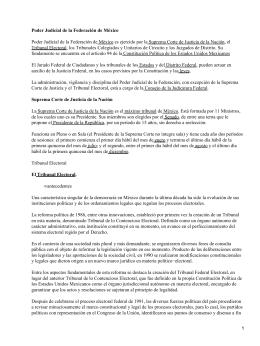 Poder Judicial mexicano